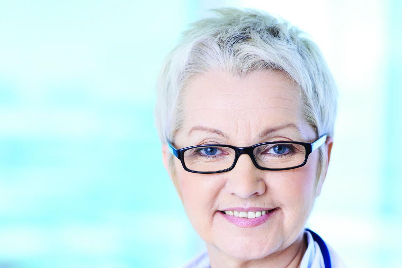 older woman doctor