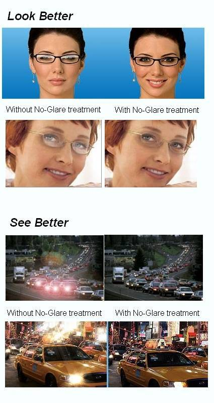 none glare lenses at monroe wa eye doctor