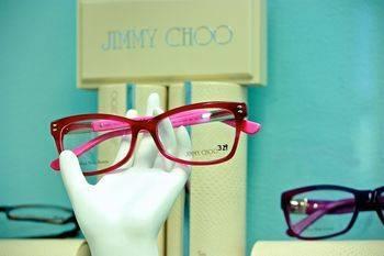Jimmy Choo eyewear at Lesslie Vision Care