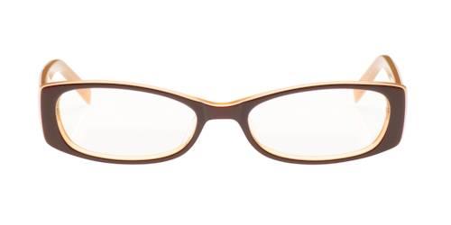 eyeglasses with rectangle plastic frames