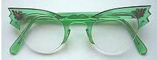 funky cat eye frames