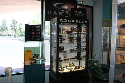 Large variety of sunglasses including Oakley