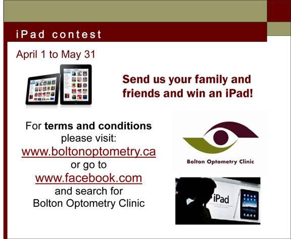 iPad contest bolton 1