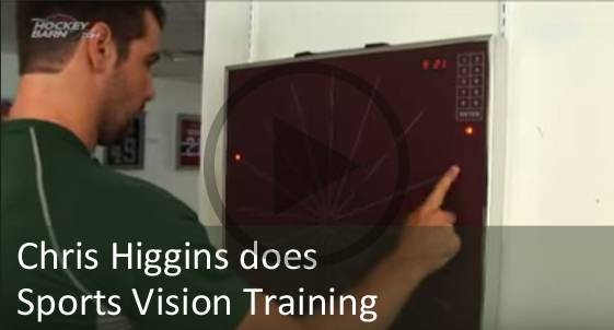 Chris Higgins Sports Vision Training Therapy
