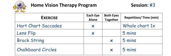 Home Vision Therapy Program 2 copy