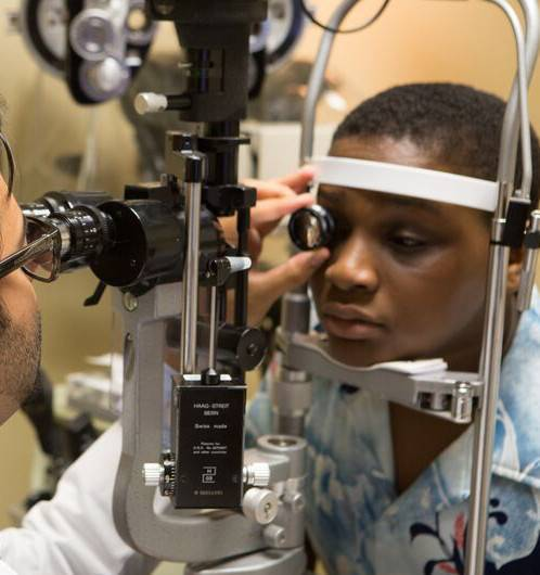 Eye exam in Raleigh