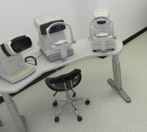 Some of the equipment we use at our raleigh eye exam office.