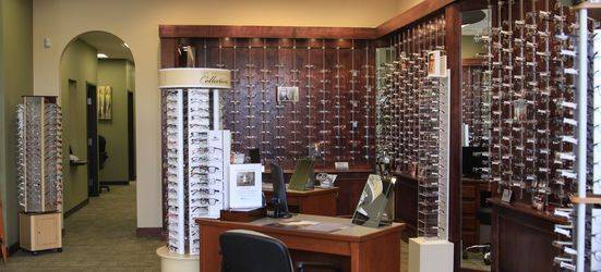 Designer eyewear and a huge selection of frames