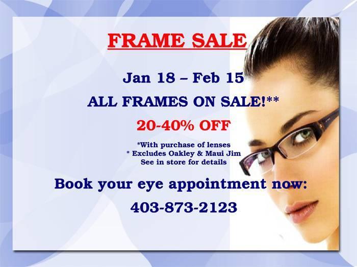 Frame Sale 2013