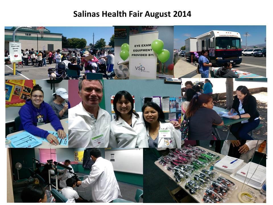 Salinas Health Fair 2014 collage